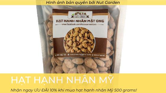 Sản phẩm hạt hạnh nhân Mỹ - Nutgarden