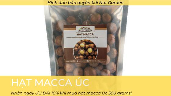 Sản phẩm hạt macca Úc - Nutgarden