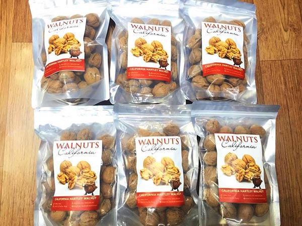 Quả óc chó nhập khẩu từ Mỹ Hartley Walnuts