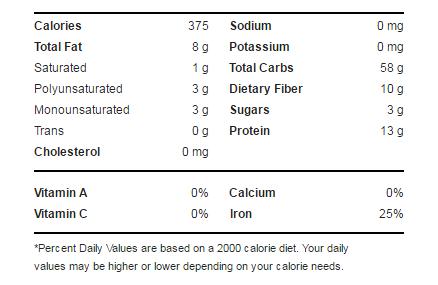 thành phàn dinh dưỡng yến mạch