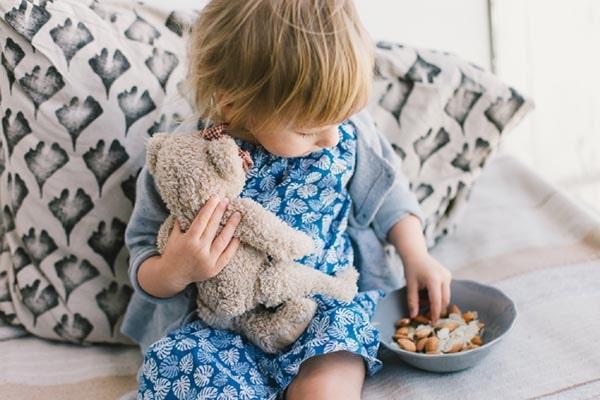 tác dụng của hạnh nhân với trẻ em